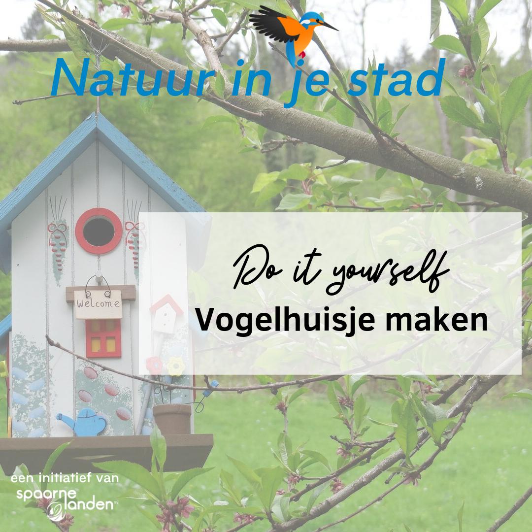 Onwijs DIY: Vogelhuisje maken   Natuur in je stad GL-53